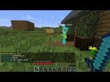 Minecraft 1.4.7 Сетевая игра сервер SparkCraft часть 5 Вор или поломанный значёк Супермена!!!