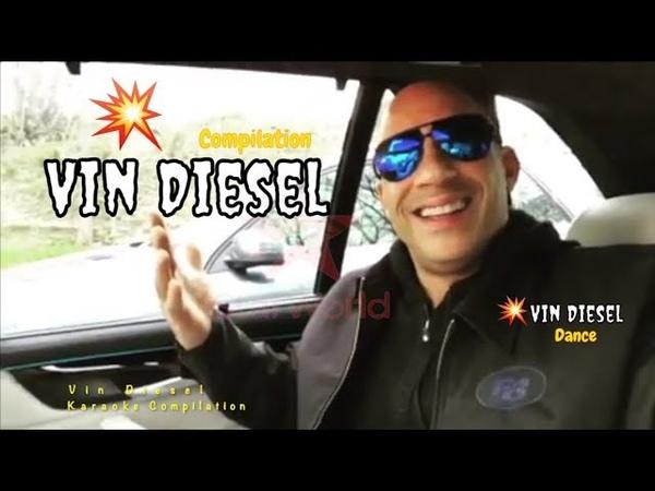 Vin Diesel Carpool Karaoke and dance| Vin Diesel Incredible Workout | Vin Diesel Compilation