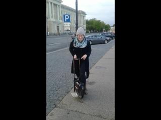 Знакомство с моно колесом или радости полные штаны;-)))