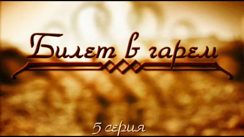 Сериал Билет в Гарем 1-я Сезон 5-я Серия 2006 Года | 16