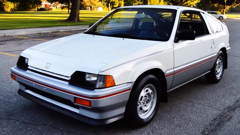 Автомобиль Honda Civic CRX Sport, 1984 года