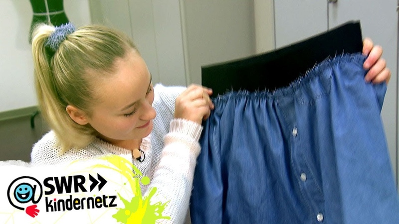 DIY-Tipp: Jeansrock nähen | Du bist Style! | SWR Kindernetz