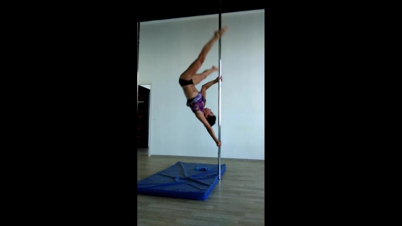 Pole dance /regrips/регрипы/перехваты
