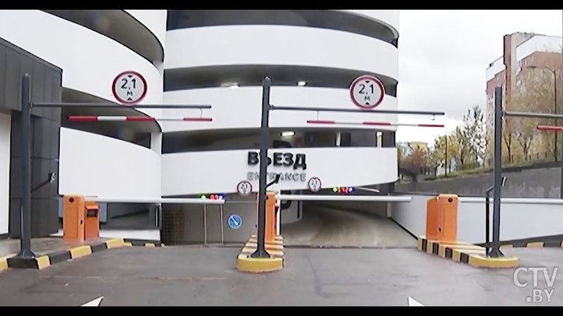 Где в Минске построят два многоуровневых паркинга?