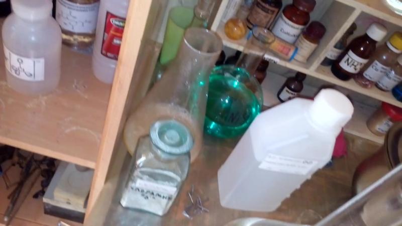 Серная Кислота Марганцовка = Оксид марганца (VII) Этиловый Спирт=🔥