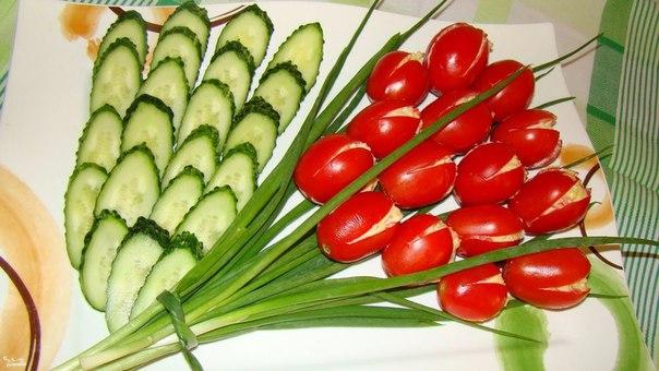 Фаршированные помидоры тюльпаны рецепт с фото