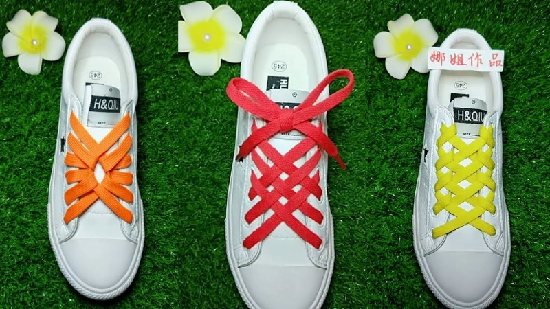 24 Style LACE SHOES Life Hack Creative WAYS How To Tie Your Shoe Laces with No Bow LaceShoes 7