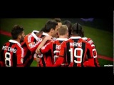 Mario Balotelli' first goals and celebrations in AC Milan