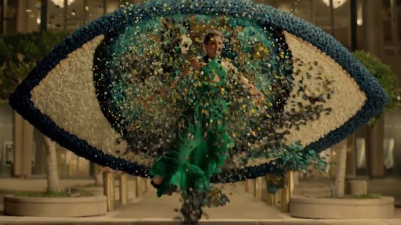 Рекламный ролик Kenzo World с Маргарет Куэлли