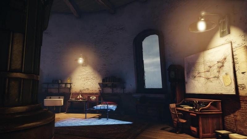 Bioshock Infinite Stormy lighthouse inside