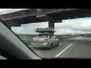 Два автомобильный бокса Koffer A430 на машине и скорость 150км/ч!