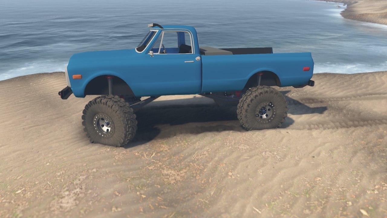 1972 Chevrolet Pickup для 23.10.15 для Spintires - Скриншот 3