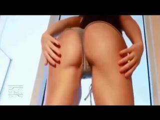 Молодые девочки трясут попками [задница тверк попки сиськи горячие тела booty shake ass boobs]