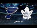 St. Louis Blues vs Toronto Maple Leafs - Oct.20, 2018