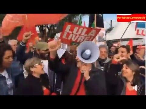 Agora Alexandre Padilha no Bom Dia Presidente Lula muito especial em Curitiba.