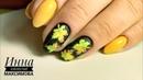 🍁 УЧИМСЯ рисовать КЛЕНОВЫЕ листья 🍁 ОСЕННИЙ дизайн ногтей гель лаком 🍁