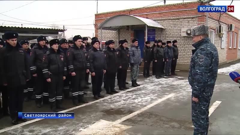 Сводный отряд Светлоярского поста ДПС переходит на усиленный режим работы