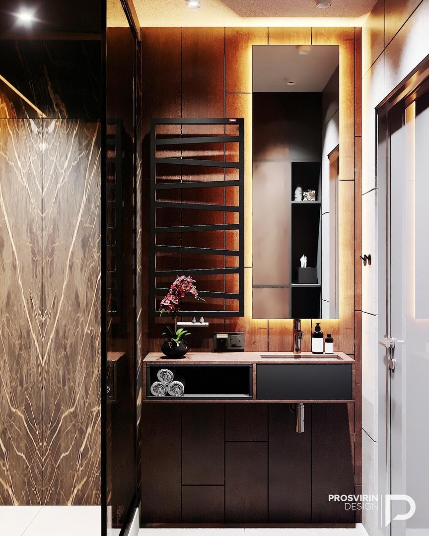 Проект квартиры площадью 89 кв.