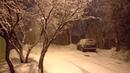 Снегопад 4k видео Внуково 2019