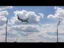 Посадка Boeing 737-700 ак Dubai во Внуково