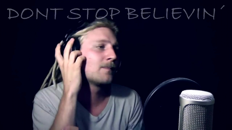 JOURNEY - DON´T STOP BELIEVIN´ (Cover and Acapella) feat David Olivares