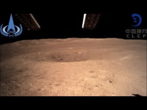 First Photo's China Lands Probe on Dark Side of the Moon