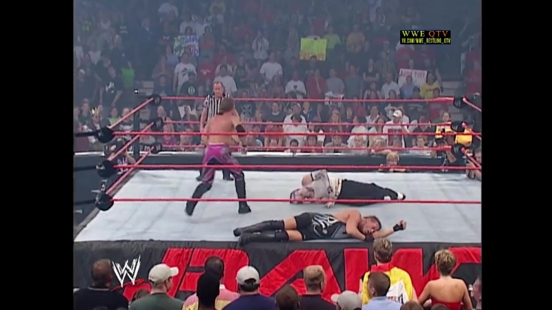 [WWE QTV]☆[WWE RAW[Фоменко]09.09.02]Chris Jericho vs. Jeff Hardy vs Rob Van Dam vs Big Show]
