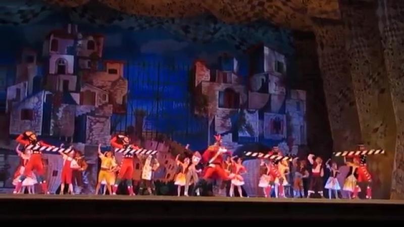 27 06 2018 Kremlin Ballet Кремлевский балет CIPOLLINO premiere excerpts Чиполлино Премьера фрагменты part часть 1