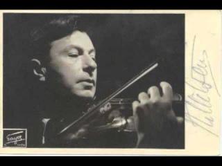 Nathan Milstein plays the 3rd Movement of Goldmark's Violin Concerto