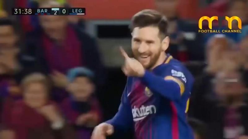 Barcelona vs Leganes 3-1 - All Goals Highlights - Resumen y Goles ● 07_04_2018 HD (First half)