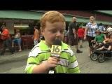 Малыш с прикольной интонацией речи