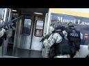 Union City S.W.A.T. team assaulting terrorist threat at train station.