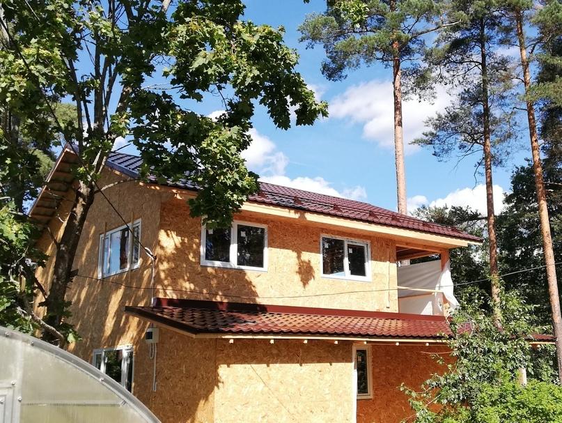 Строительство дома в п. Вырица