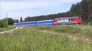 ТЭП70БС-242 с поездом Санкт-Петербург — Минск