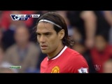 Radamel Falcao (Leicester City - Manchester United 5-3) Individual Highlights 21/09/2014 by DENY7