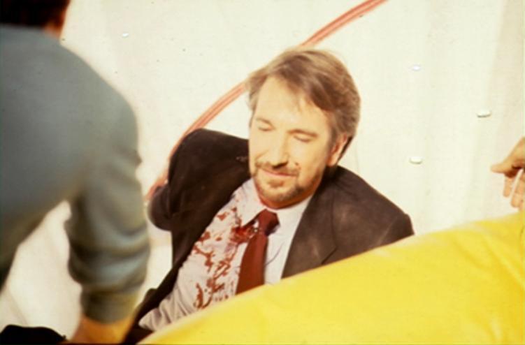 Фотографии со съёмок фильма Крепкий орешек 1988 год