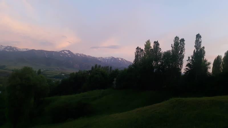 Кешкі ауыл көрінісі