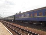 ЭП10-006 с поездом № 60 София-Москва проследует станцию Зерново.
