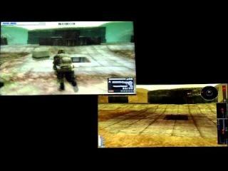 Сравнение карты Pillbox Purgatory в онлайн режимах Metal Gear Solid 3 и Peace Walker