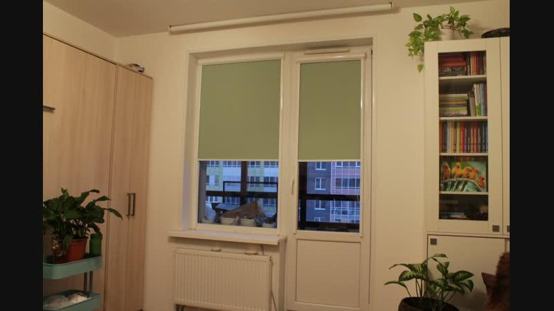 Рулонные шторы ткань Альфа блэкаут - Кудрово, Венская 4к2