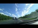 Дорога в Болдино Нижегородская область Интервальная съёмка в пути