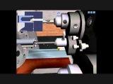 Имитация обработки детали на токарном станке с ЧПУ