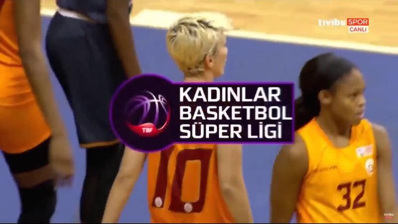 Galatasaray vs Cukurova KBSL 4 Hafta 04 11 2018
