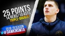 Nikola Jokic Triple-Double 2019.02.06 Nets vs Nuggets - 25 Pts, 14 Rebs, 10 Asts! | FreeDawkins