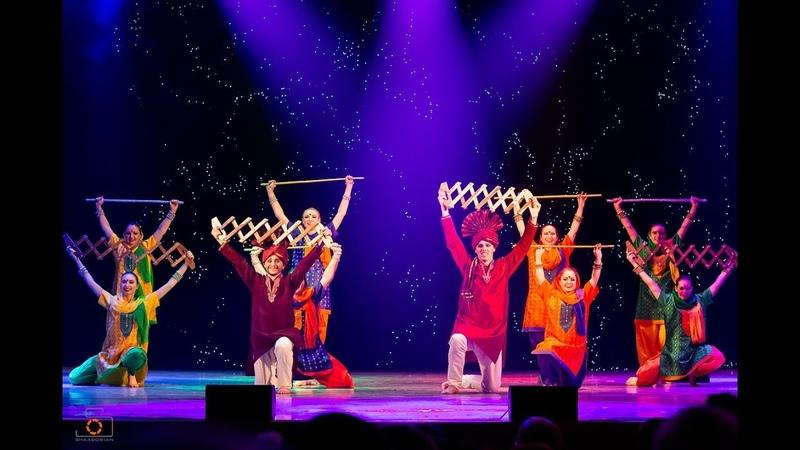 Bhangra dance Nai Reesa Punjabiyo Jassi Sidhu Amrita dance group Moscow