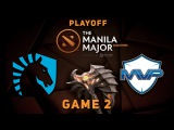AMAZING 2 RACKS COMEBACK - Liquid vs. MVP - Game 2 @ Manila Major
