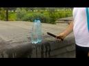 Нож Ягуар  2 из стали Р12 в тесте против бутылок - Okskie nozhi.ru