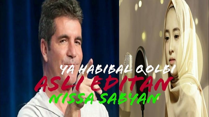 Parodi Nissa Sabyan - Ya Habibal Qolbi Edit di X Factor