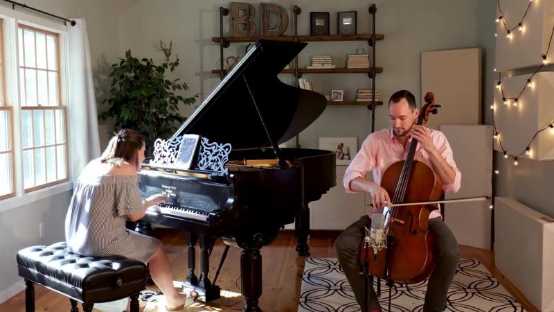 Кавер на пианино и виолончели Happy Now - Zedd Elley Duhé от Brooklyn Duo
