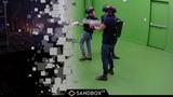 Killing Zombies in VR